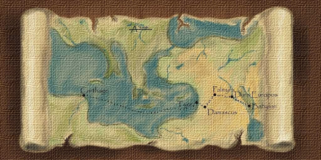Illustration 4 Color Map of the journey