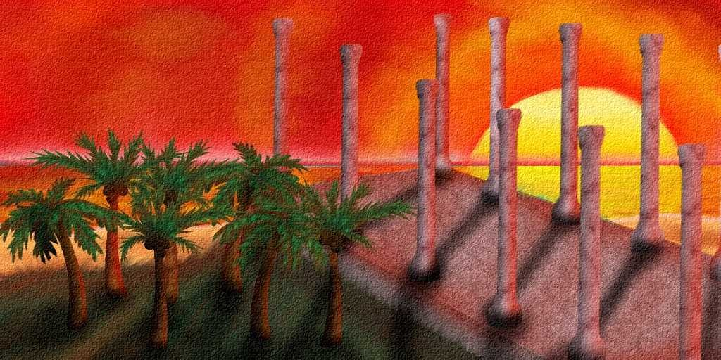 Illustration 7 Color Tyre city and the Great Sea